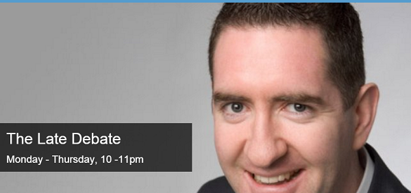 Interview on Late Debate – RTÉ Radio 1